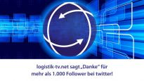 logistik-tv.net freut sich über mehr als 1000 Follower auf Twitter